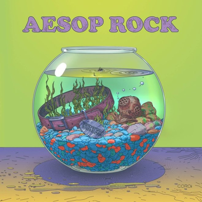 Aesop Rock Catfood EP Artwork