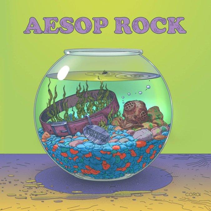 Aesop Rock Catfood EP Artwork